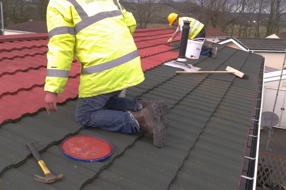 Roof Refurbishment work