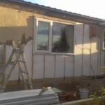 Removal of rotten and old panneling as part of Exterior Refurbishment